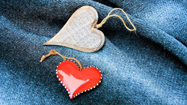 Heart, Para, Love, No One, Shape, Red, Gift, Romantic