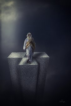 Sculpture, Statue, Human, Deity, Spirituality, Light