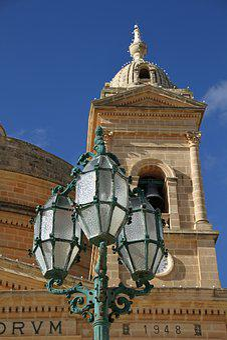 Lantern, Light, Lamp, Electric, Old, Vintage