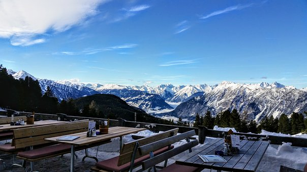 Snow, Mountain, Nature, Panorama, Wood, Winter