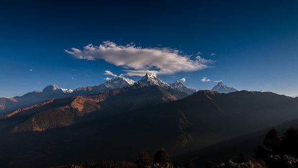 Mountain, Panoramic, Nature, Travel, Outdoors, Sky