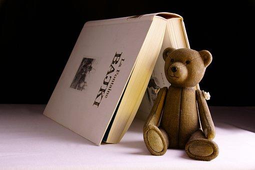 Toy, Book, Bear, Reading, Education, A Fairy Tale