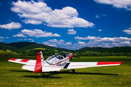 Sky, Airplane, Cloud, Transportation System, Aircraft