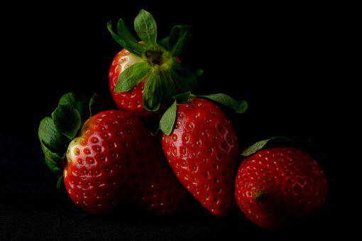 Fruit, Strawberry, Eating, Fit, Food, Healthy