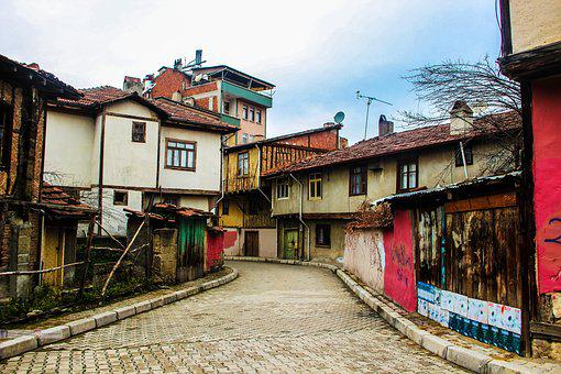 Home, Old, Architecture, Town, Street