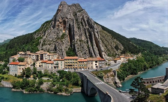 Rock, Travel, Panorama, Waters, Architecture, Mountain