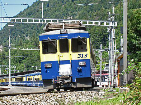 Rail- Cars, The Bernese Oberland Railway