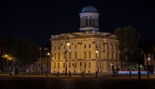 Architecture, Illuminated, Travel, Dusk, City, Building