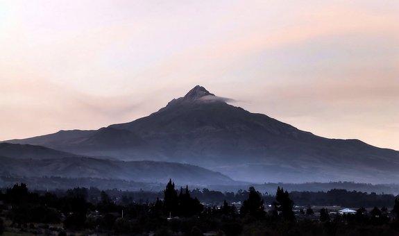 Mountain, Travel, Landscape, Twilight, Ecuador