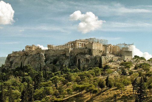 Citadel, Athens, Greece, Ancient, Greeks, Architecture