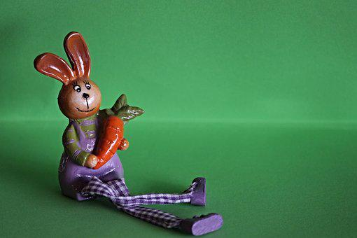 Hare, Carrot, Cute, Animal, Funny, Rabbit, Easter