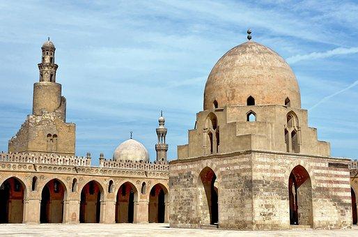 Egypt, Cairo, Ibn-tulun-mosque, Architecture, Religion