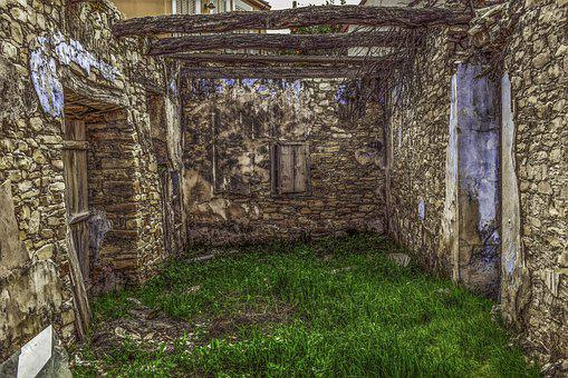 House, Old, Architecture, Abandoned, Stone, Damaged