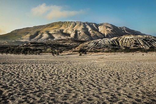 Desert, Nature, Landscape, Dry, Sand