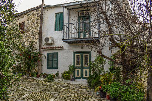 House, Architecture, Traditional, Window, Door