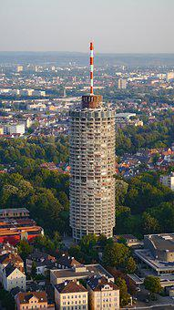 Augsburg, Hotel Tower, Swabia, Corn On The Cob