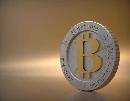 Bitcoin, Number, Metallic, Metal, Shiny, Iron, Silver