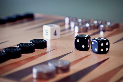 Backgammon, Game, Board, Dice, Win, Play, Numbers, Risk