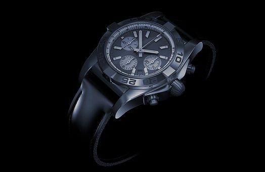 Time, Clock, Background, Wrist Watch, Chronometer