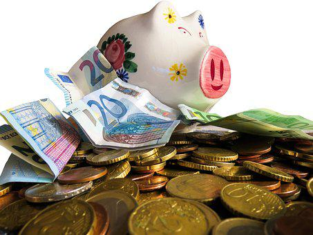 Money, Currency, Finance, Save, Financing, Lucky Pig