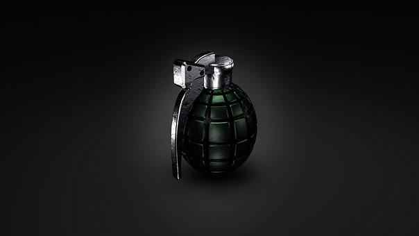 Grenade, War, Weapon, World War I, Render