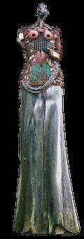 Sculpture, Figure, Amazone, Guardian Figure, Female