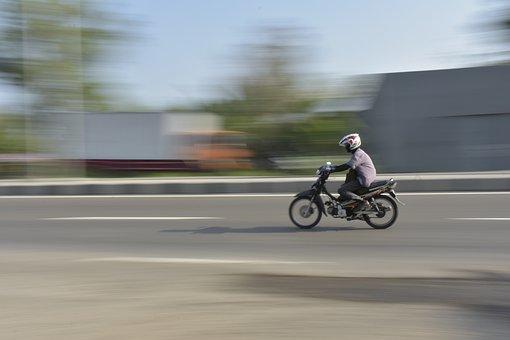 Toned, Run, Motor, Riders, Drive, Ride, Up, Helmet
