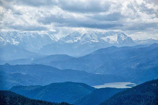 Mountain, Snow, Panorama, Nature, Travel, Landscape