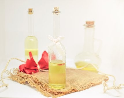 Essential Oils, Oil, Bottle, Glass, Essential