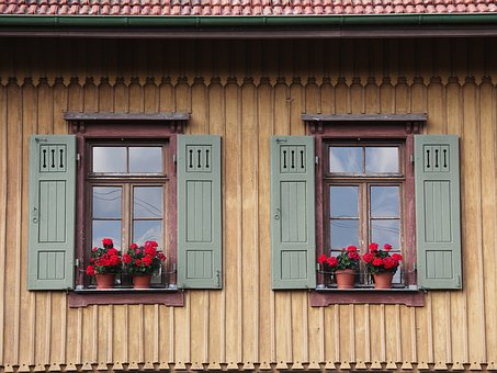Home, Architecture, Window, Wood, Woods, Shutter