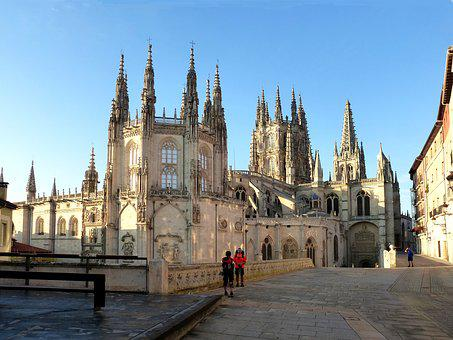 Cathedral, Spain, Architecture, Facade, Monuments