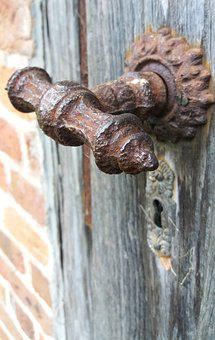 Heck, Rusted, Old, Door, Mysterious, Oxidize, Metal