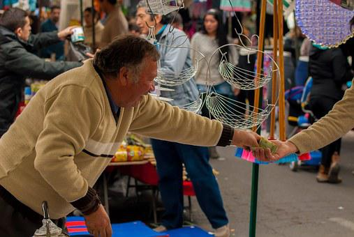Seller, Fair, Money, Market, Street, Street Vendor