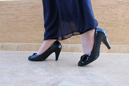 Woman, Heels, Fashion, Hijab, Muslim, Shoes, High