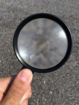 Hand, Magnifying Glass, Discovery, Finger, Nail, Thumb