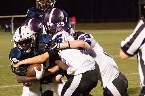 High School, Football, Tackle