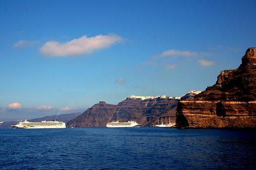Santorini, Greek Island, Cyclades, Caldera