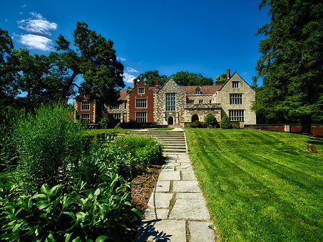 Salisbury House, Mansion, Architecture, Grounds, Lawn