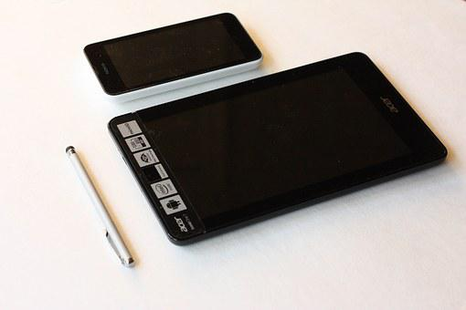 Mobile Phone, Tablet, Stylus Pen, Cell Phone