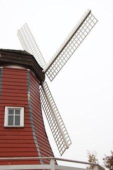 Windmill, Netherlands, Building, Holland, Mill