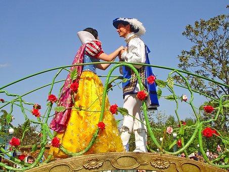 Fairy Tale, Disneyland, Disney, Paris, Snow White