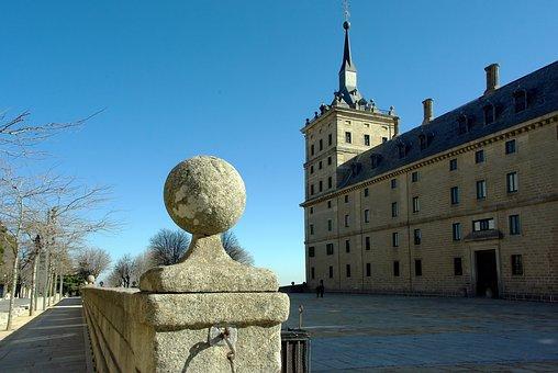 Spain, Escorial, Castle, Royal, Royal Residence
