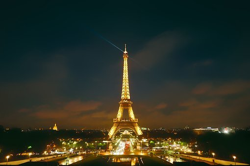 Paris, France, City, Urban, Eiffel Tower, Landmark