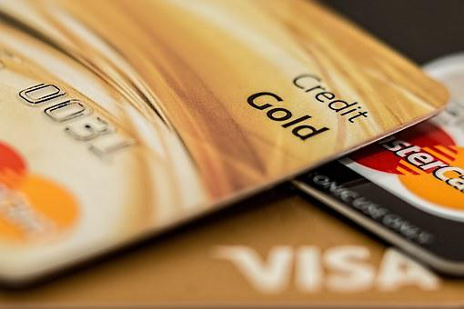 Credit Card, Master Card, Visa Card, Credit, Paying