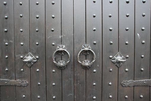 Goal, Door, Gate, House Entrance, Old Door, Input, Wood