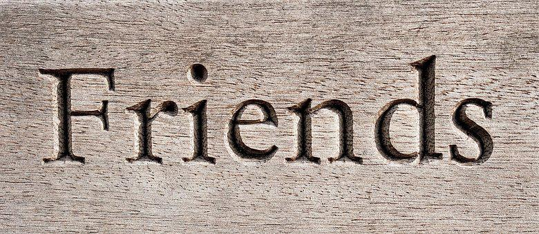 Friend, Carving, Wood, Friendship, Companion