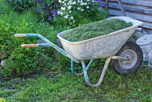 Sliding Barrow, Wheelbarrows, Transport, Work, Tools