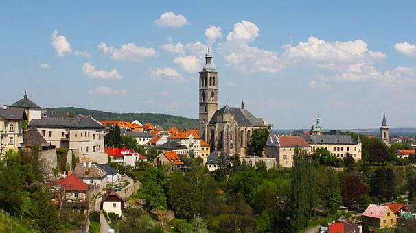Tower, View, Hora, Town, Art, Sky, Old, Saint, Czech