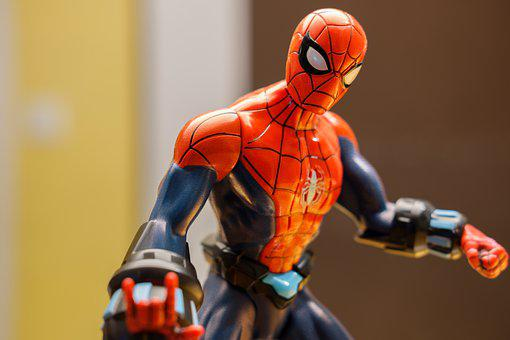 Spiderman, Held, Action Hero, Comic, Cartoon Character