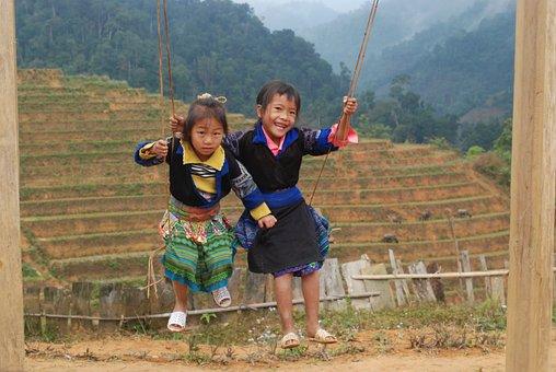 Highland Children, Poor Children, Happiness, Child